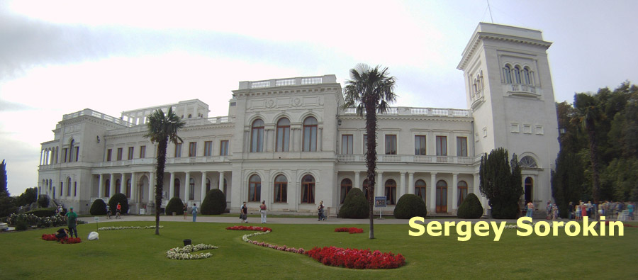 Livadia Palace in Yalta